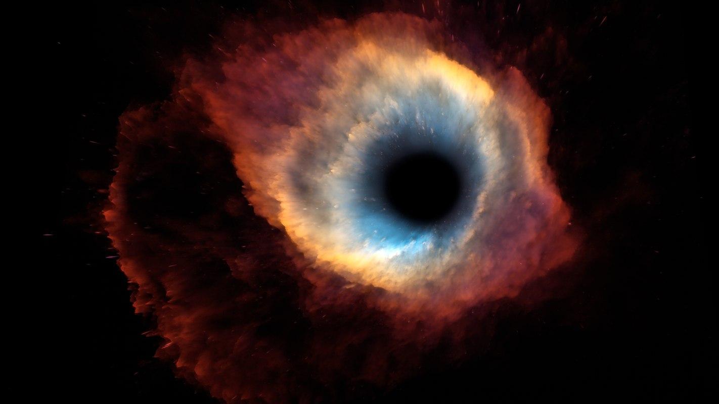 helix nebula 3d model