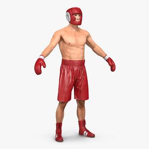 c4d boxer man