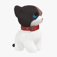 3d puppy fur model