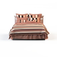 linens strip bed calico 3d max