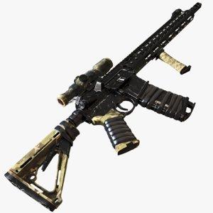 3d model ar-15 sight