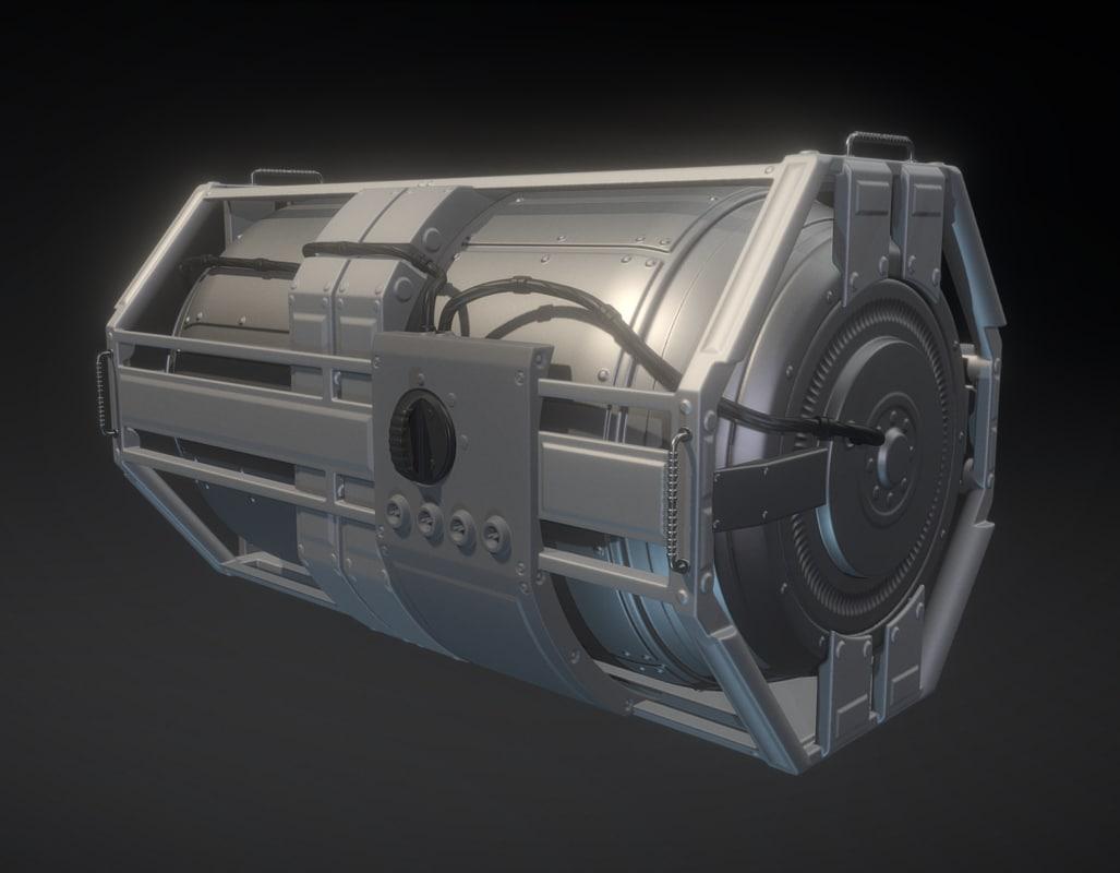 emergency backup generator 3ds