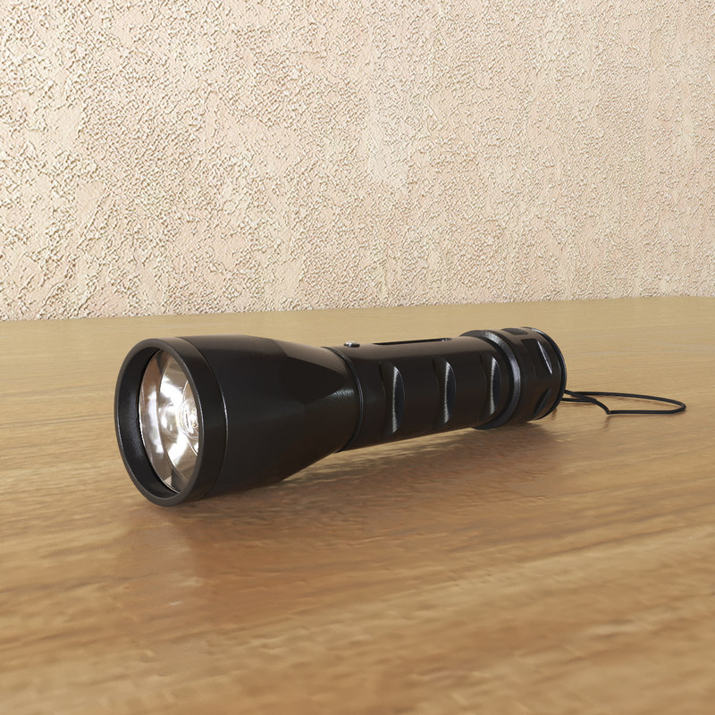 obj flashlight light