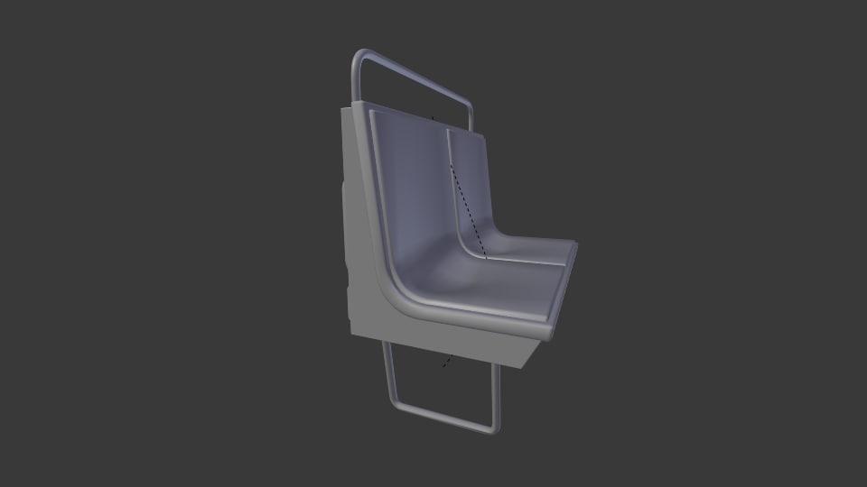 3d model of paris metro sit