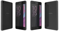 3d sony xperia e5 black model