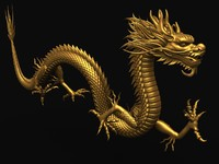 Asian Chinese Dragon 01