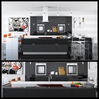 kitchen furniture 3d model