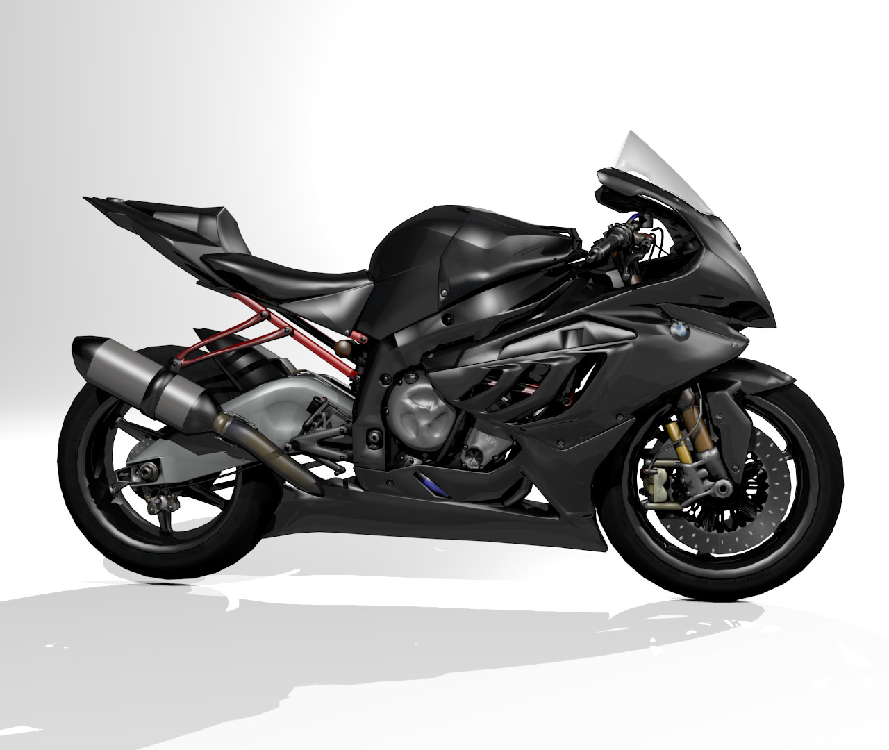 3d model motorcycle sportbike