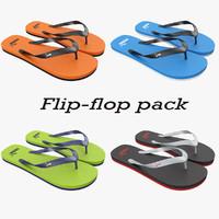 3d puma flip-flops