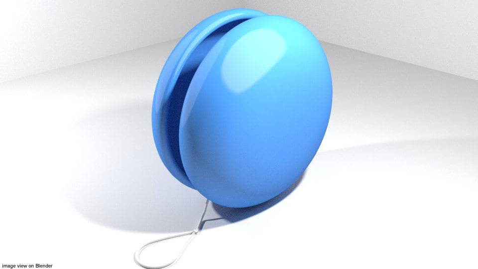 3d toy yoyo model