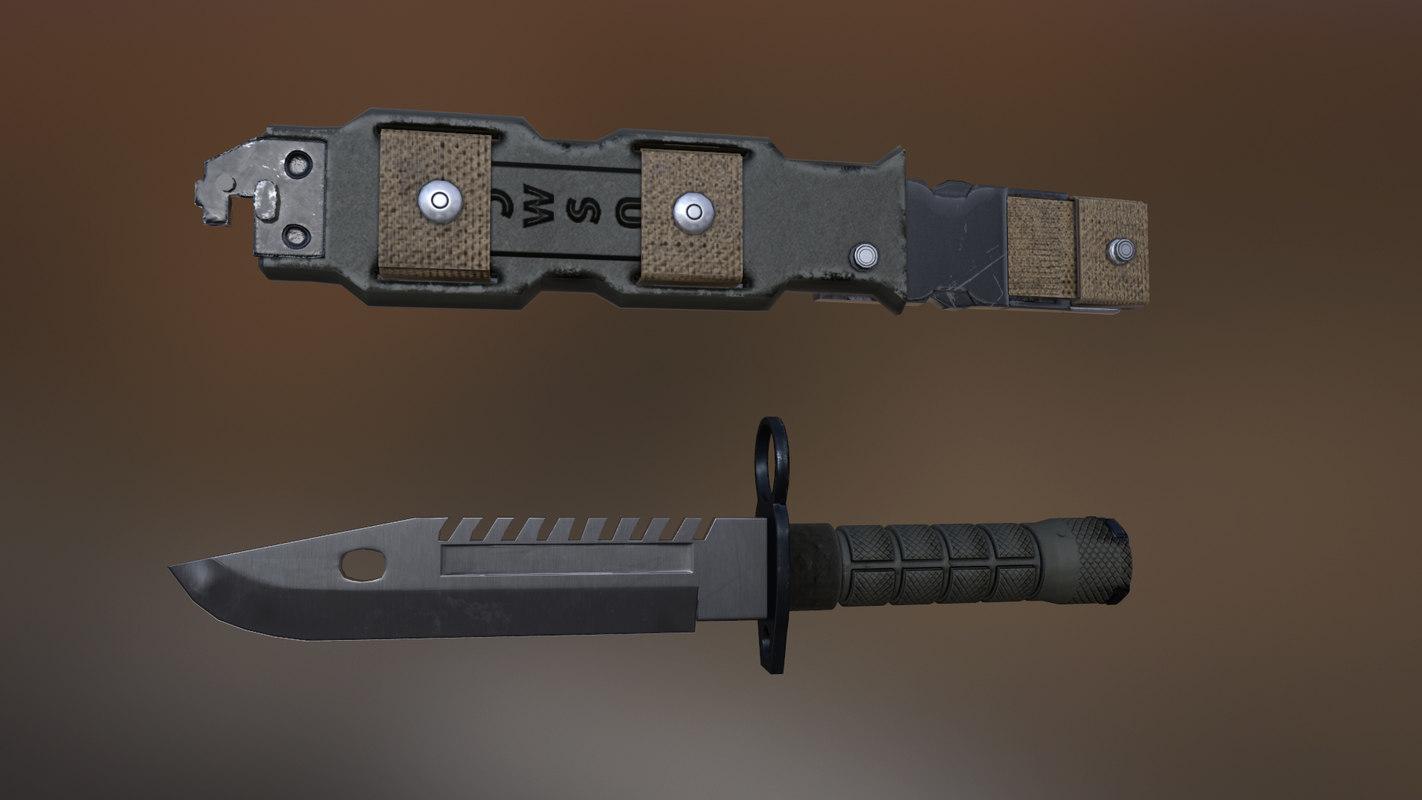 archive knife 3d model