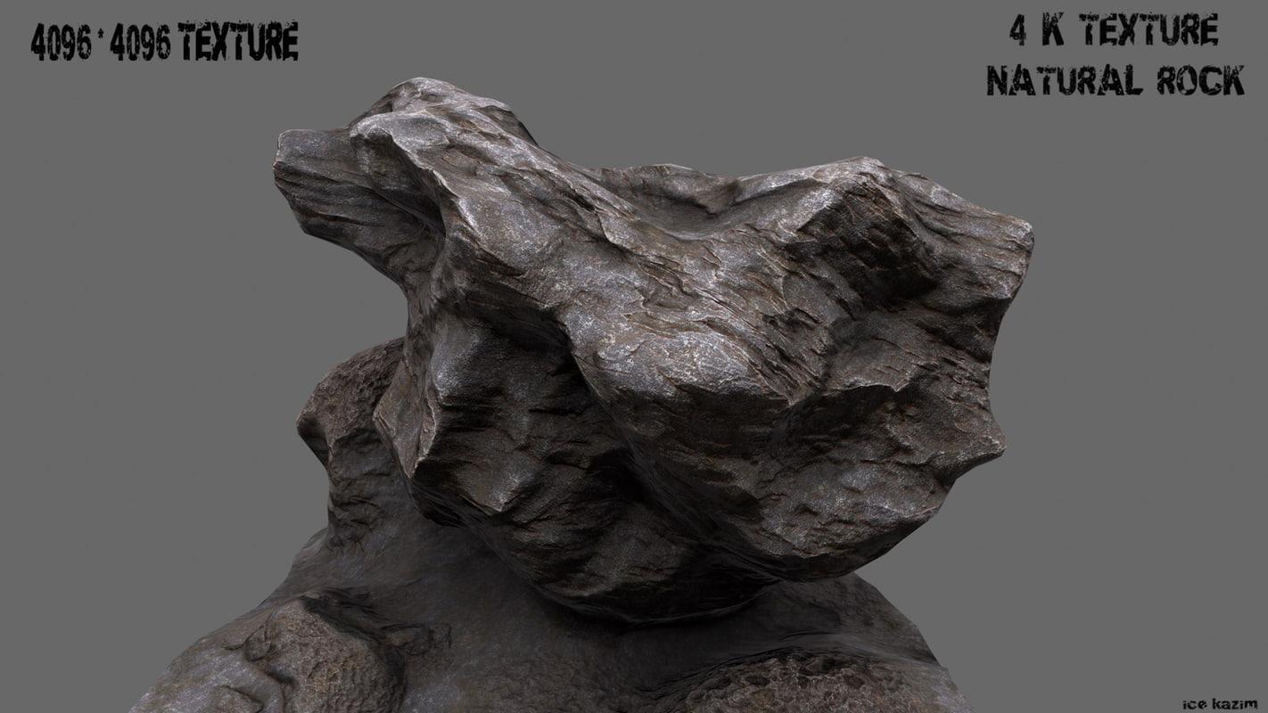 mountain rock 1 obj