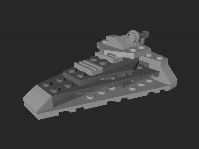lego order star destroyer 3d model