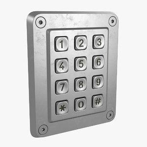 keypad pad max