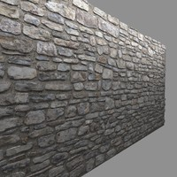 Masonry Stone Wall 2
