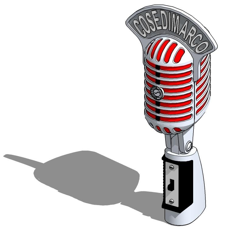 free shure 55 microphone 3d model