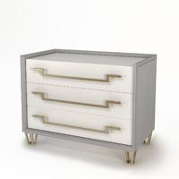 3d model baker iron eye bedside