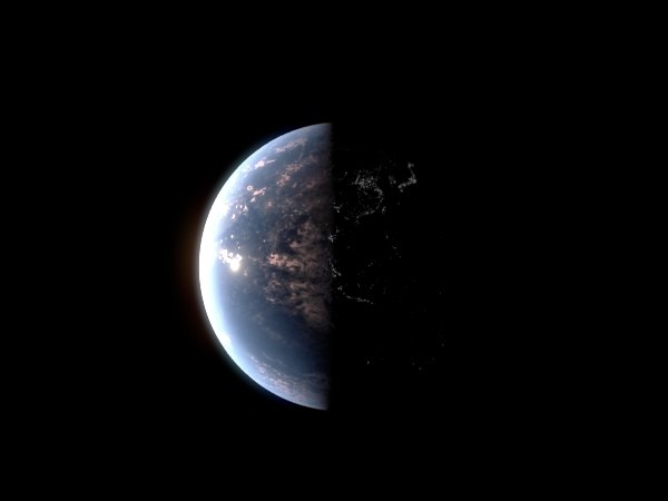 earth night 3d ma