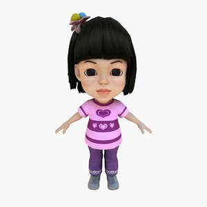 max purple girl