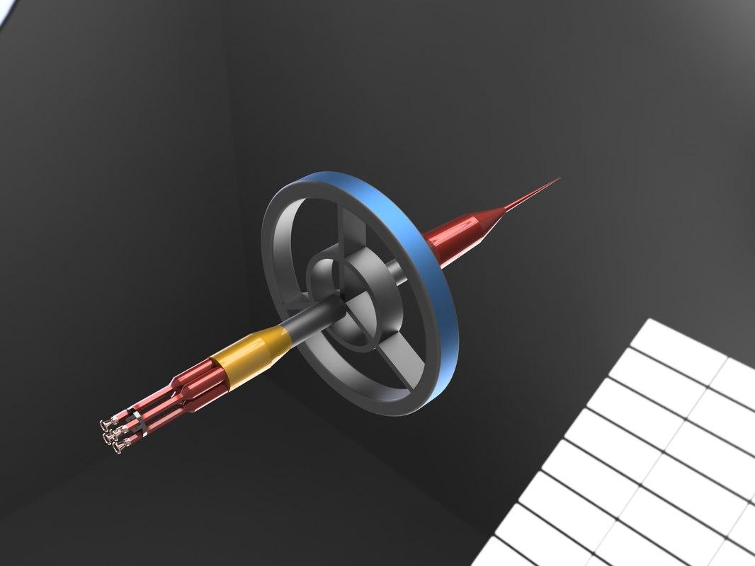 spacecraft antimatter 3d obj