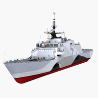 USS Freedom LCS-1 - Littoral Combat Ship