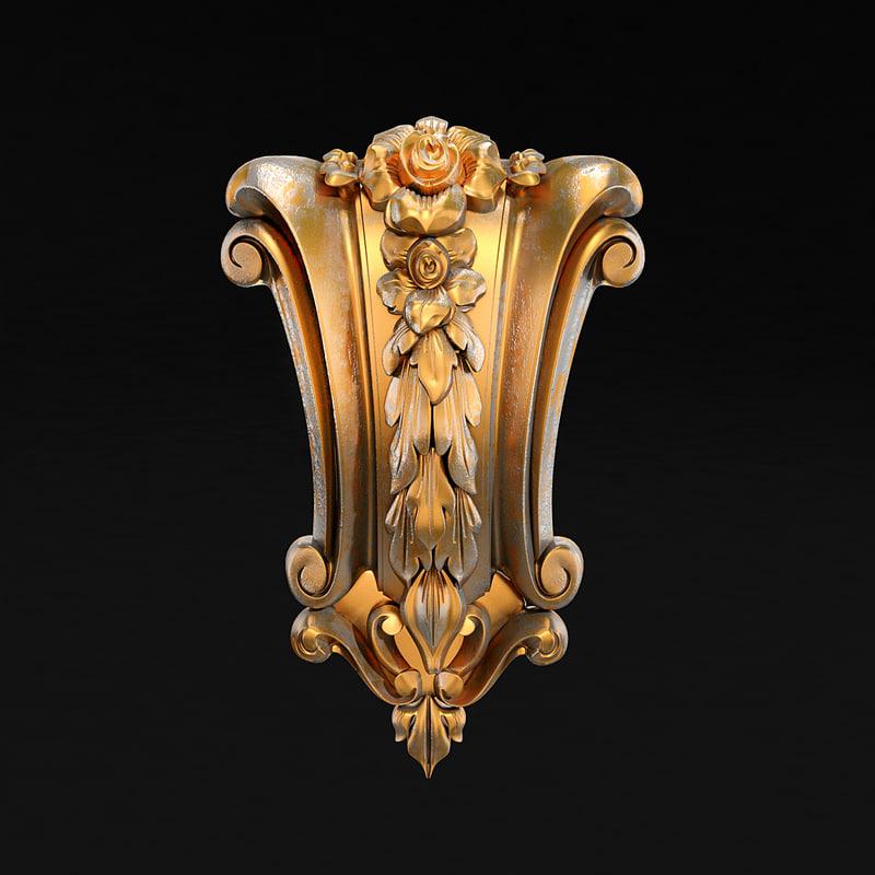 carved 15 3d obj
