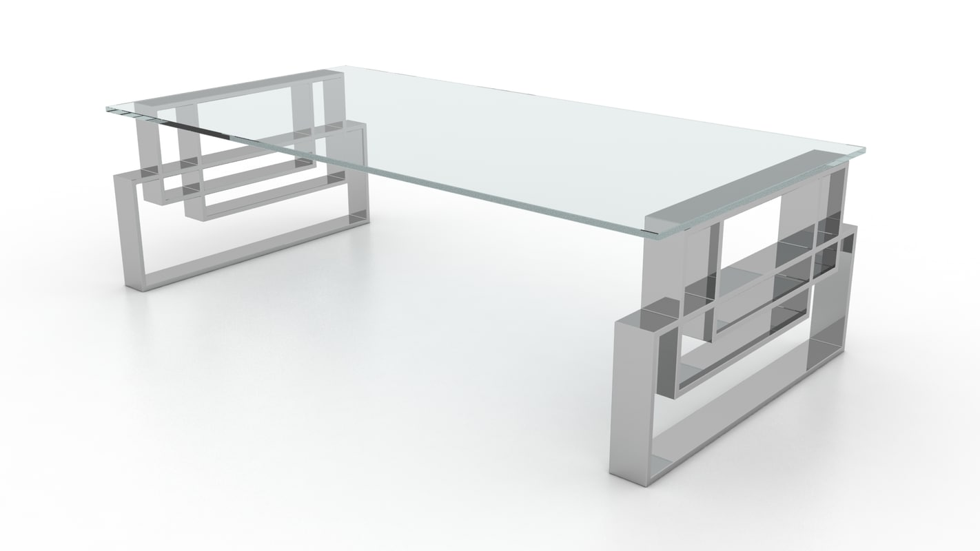 hines coffee table 3d model