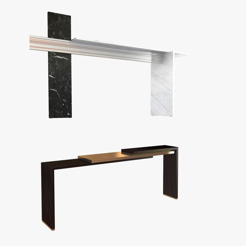 max consoles herve langlais tables