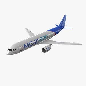 irkut russian jet 3d max