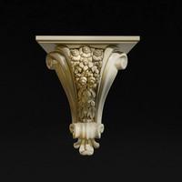 3d model carved 18
