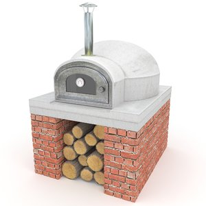 3d pizza oven