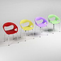 3d plastic chairs