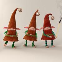 3d gnome match model