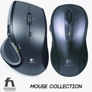 logitech mouse 3d 3ds