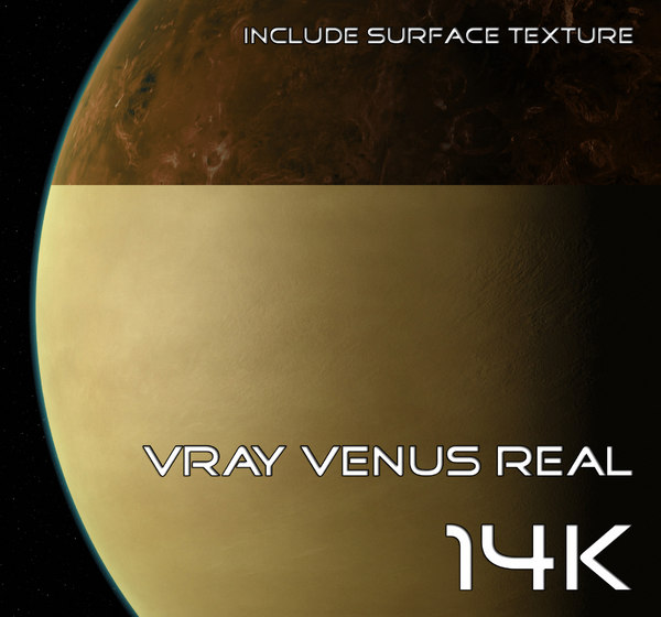 venus real 14k 3d max