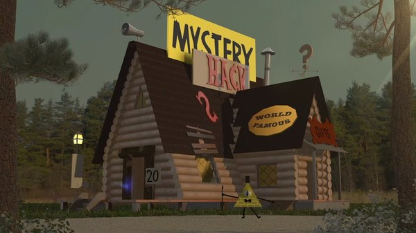 3d mystery shack