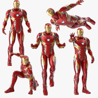 Iron Man Mark 46  Poses Collection