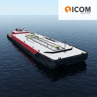 Oil transport Barge