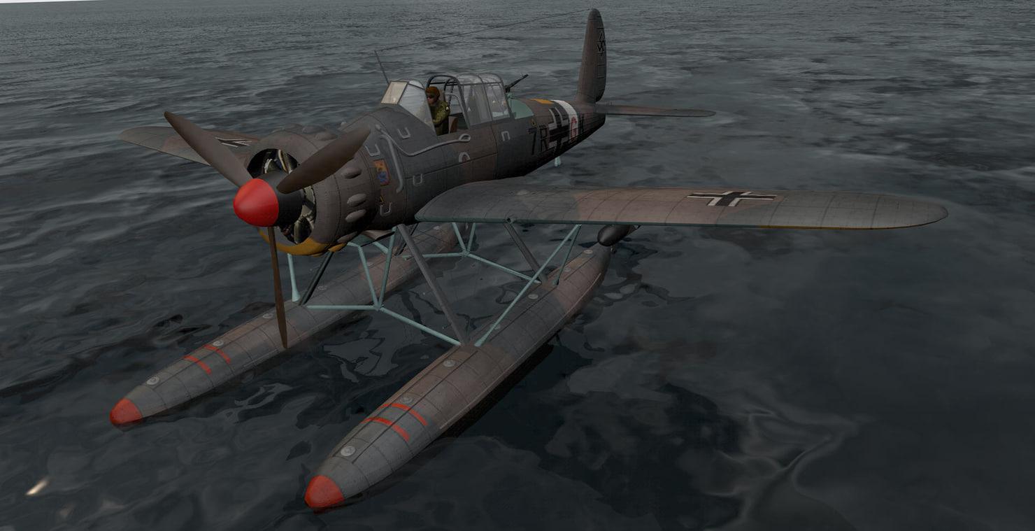 3ds arado ar-196a-3