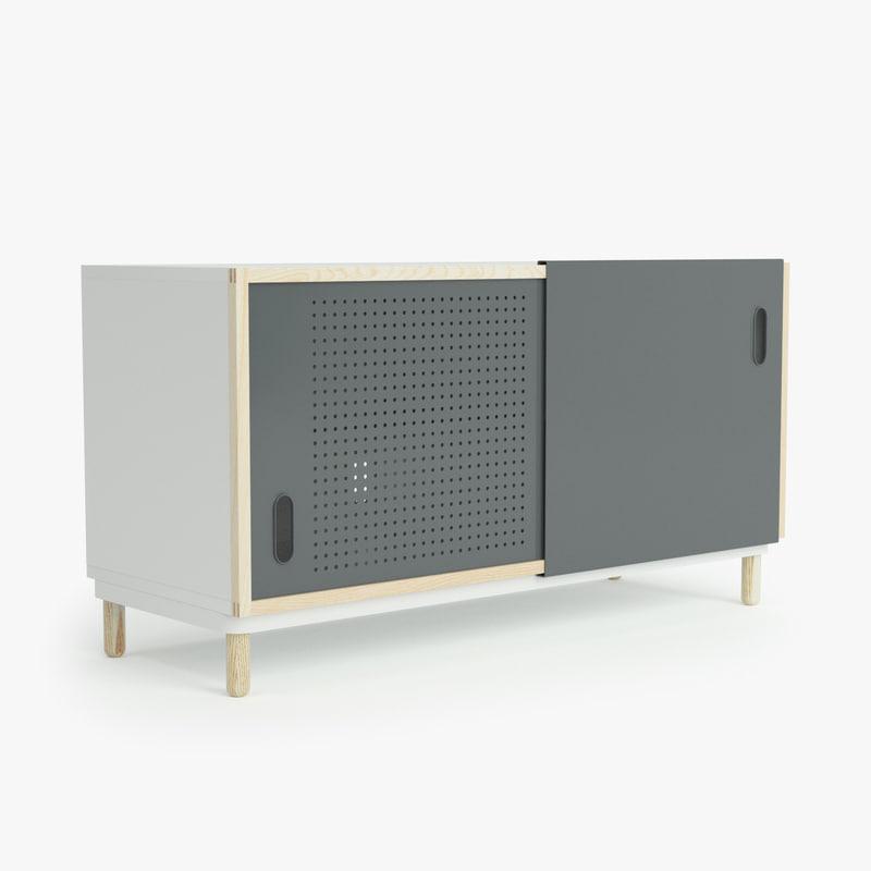 normann copenhagen kabino sideboard 3d model