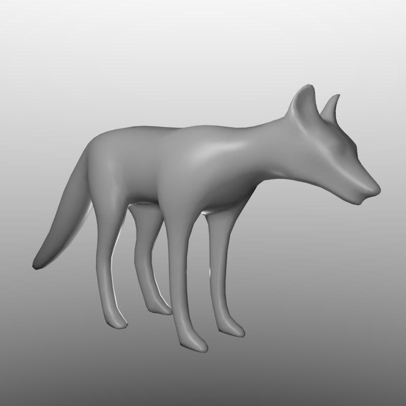 free base modelled sculpting 3d model