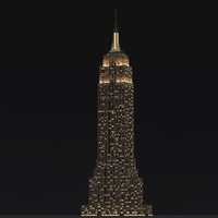 3d empire state building landmark