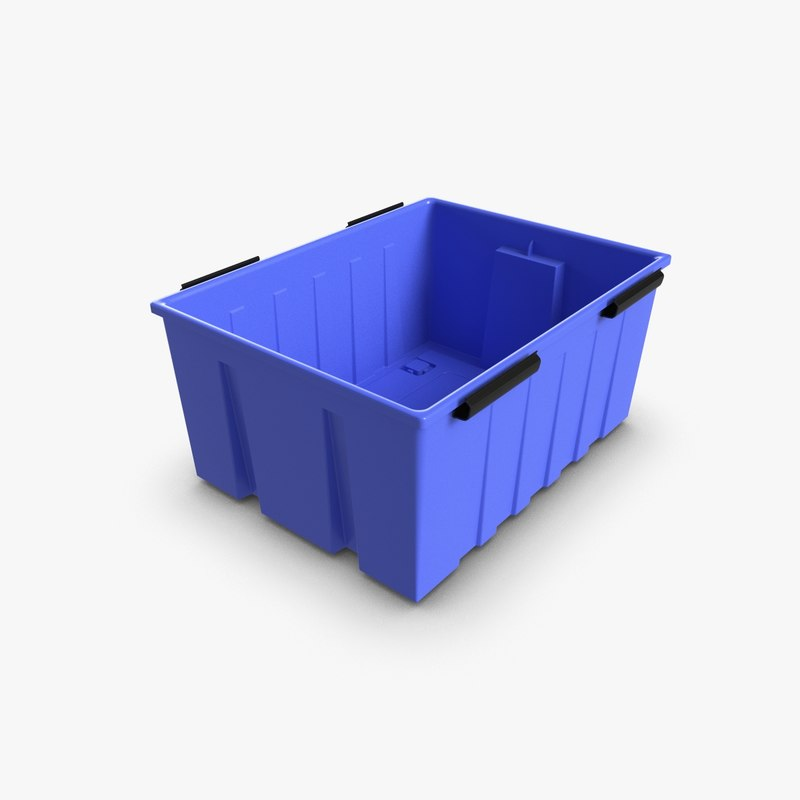3d plastic locker box