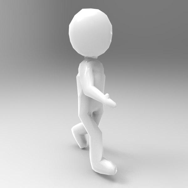stickman animations 3d 3ds