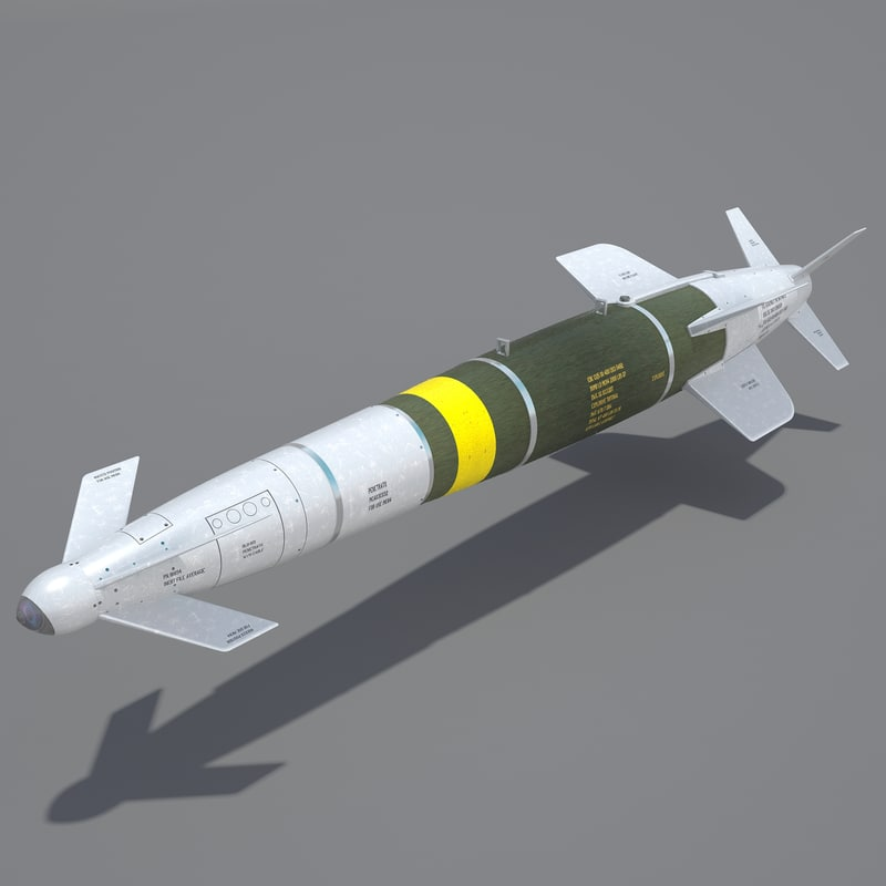 spice-2000 guided bomb 3d model