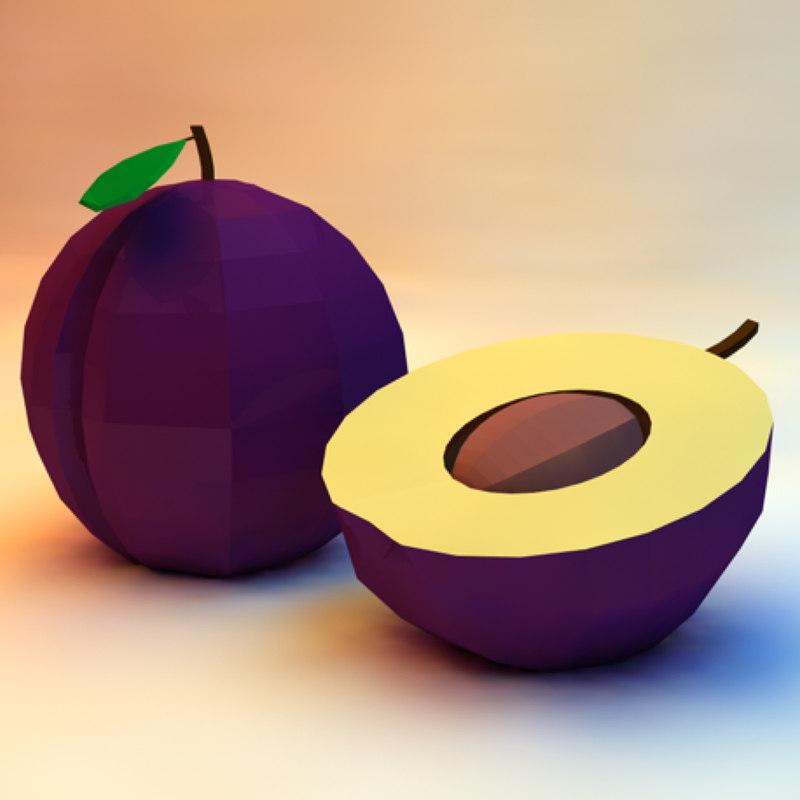 obj plum assets