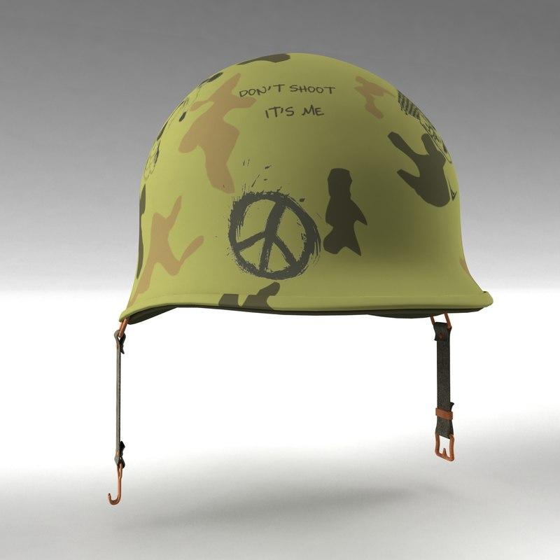 max army m1 helmet