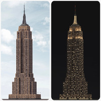 Empire State Building - Day/Night