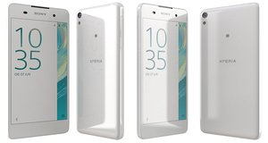 3d model sony xperia e5 white