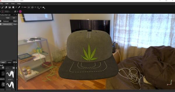 3d hat model
